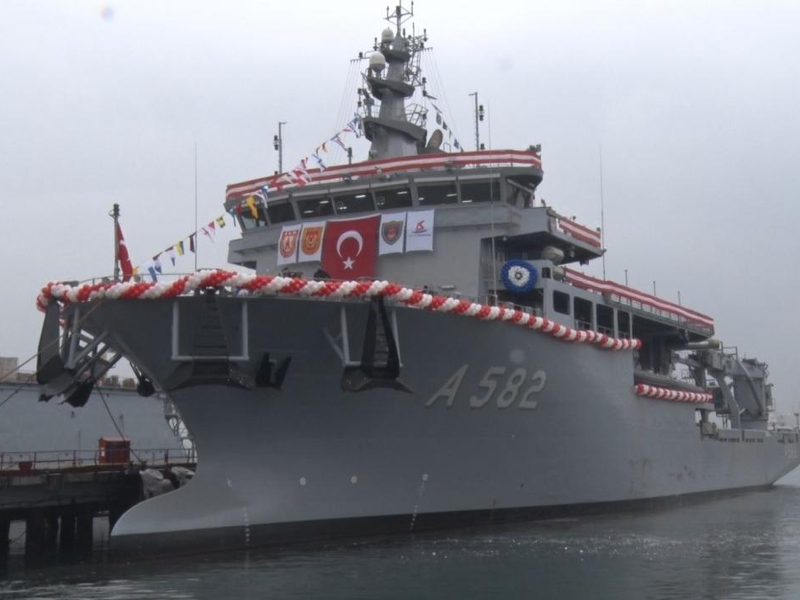 TCG Alemdar Submarine Rescue Mother Ship (MOSHIP), Turkey