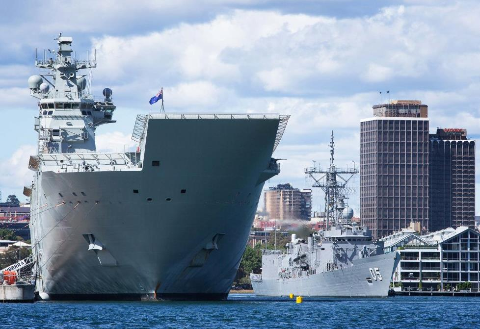 Australian Navy denies reports of improper maintenance for HMAS Canberra ve HMAS Adelaide break-downs…