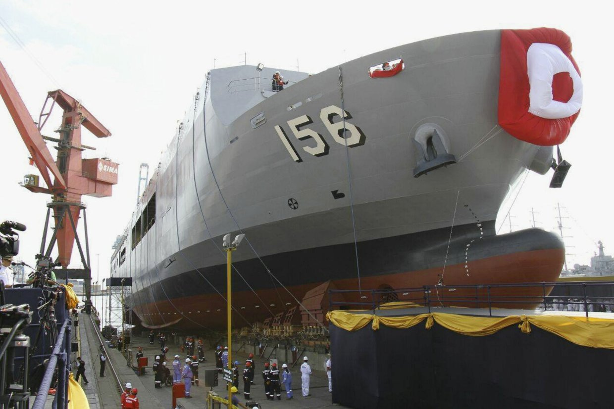 Peruvian Navy BAP Pisco Landing Platform Dock has been launched…