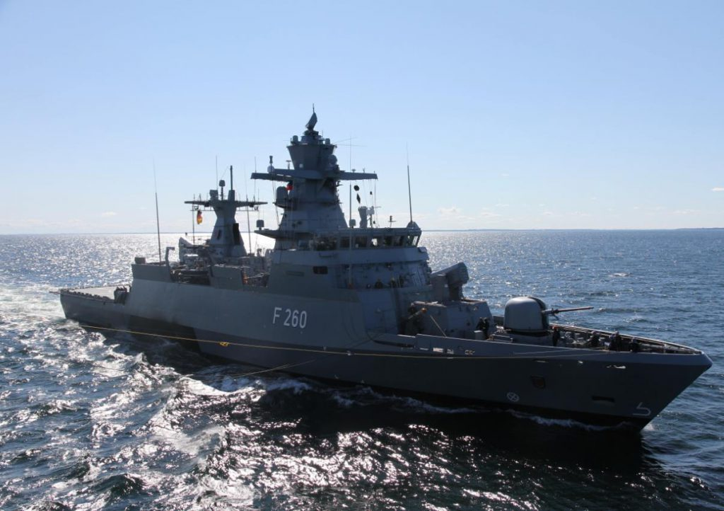German cartel office halts quick purchase of K130 corvettes