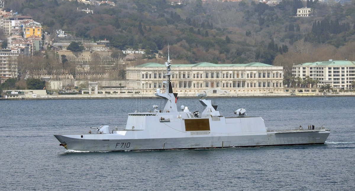 La Fayette modernization with anti-sub capabilities…