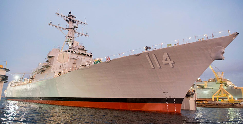 USS Ralph Johnson (DDG-114) Successfully Completed Builder's Trials