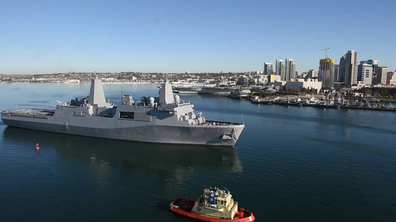 USS John P. Murtha (LPD-26) Completed Final Post-Delivery Trials on July 21