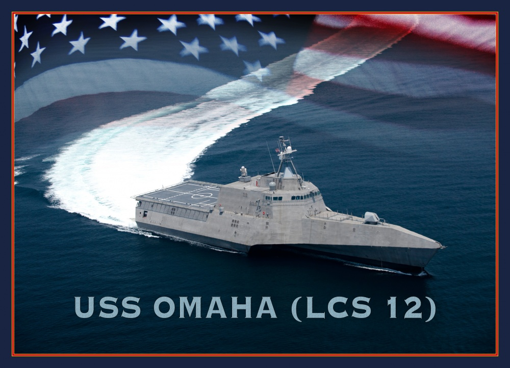 Future USS Omaha (LCS 12) has been delivered to US Navy on Sept.15