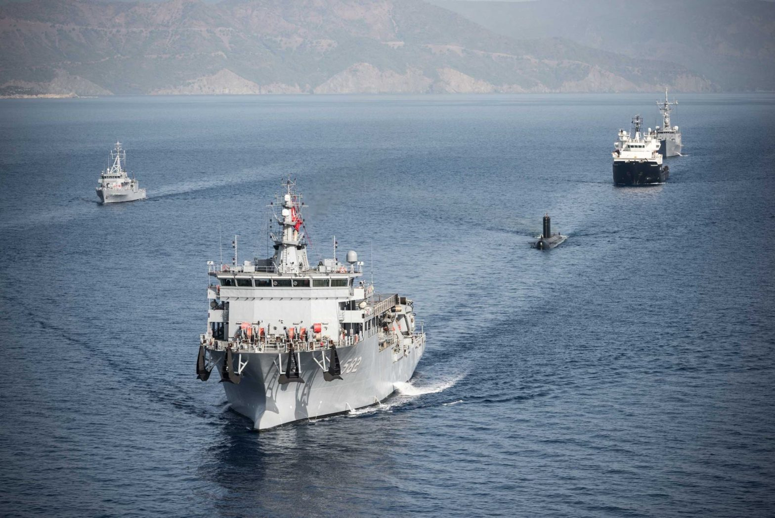 Turkey is hosting Dynamic Monarch 2017, NATO submarine rescue exercise…