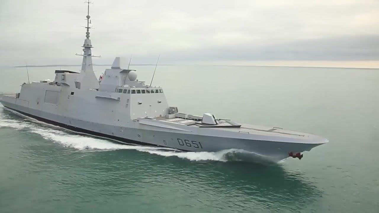 French Navy FREMM Sea Trials