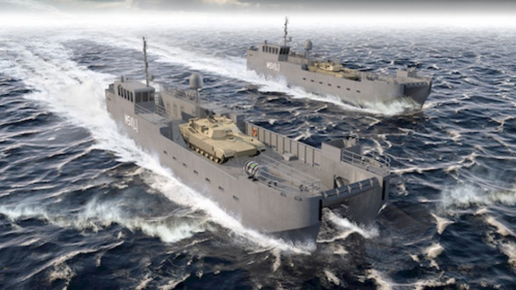 Vigor wins award to build the U.S. Army's Maneuver Support Vessel