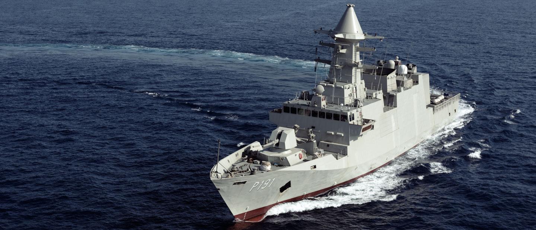 Abu Dhabi Class Corvette Sea Trial