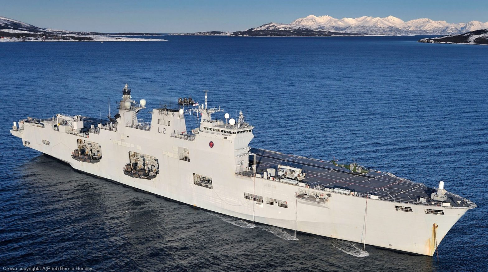 Is Turkey a potential buyer for HMS Ocean, the Flagship of Royal Navy?