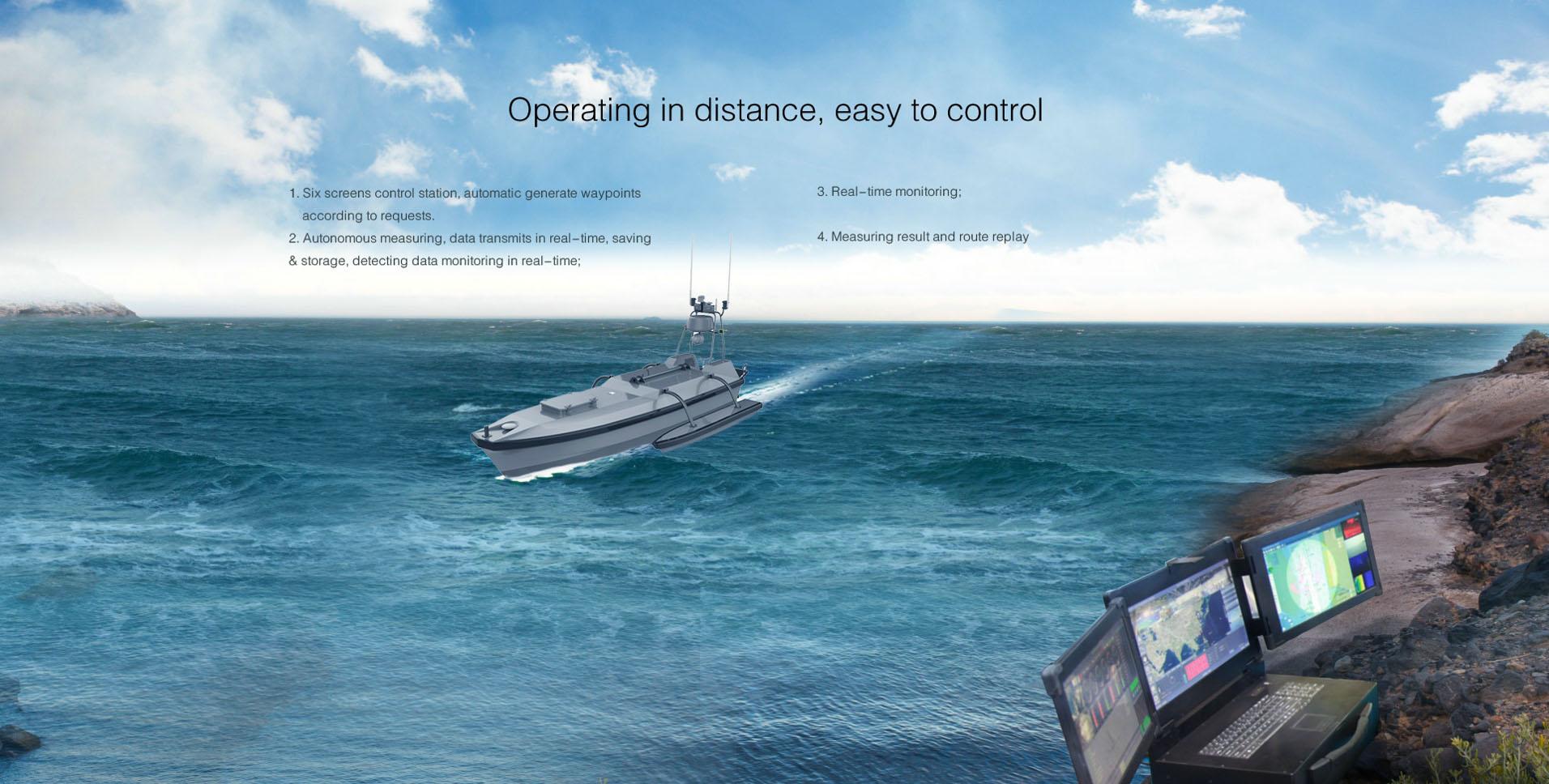 Yunzhou-Tech (Oceanalpha) unveiled new USV with multi-beam