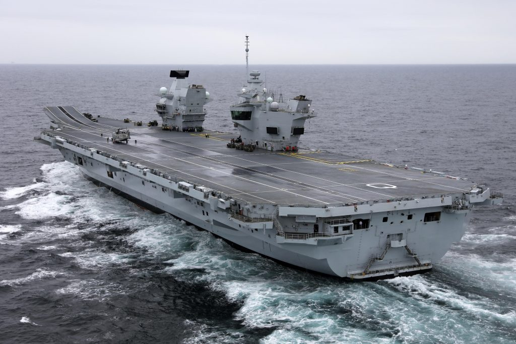 Thales has won a contract to support, communication systems installed on-board the British Royal Navy's Queen Elizabeth Class aircraft carriers.