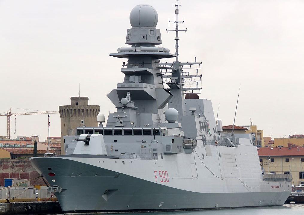 Fincantieri FREMM evolving into US Navy FFG(X)