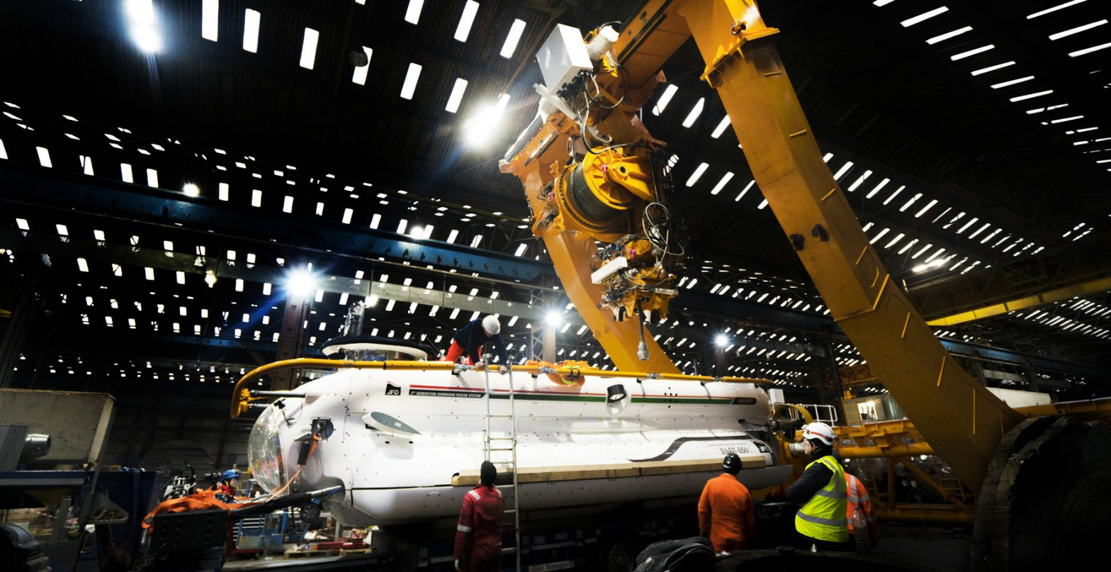 JFD completes new Submarine Rescue System for Indian Navy