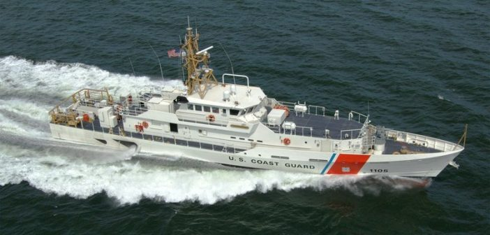 27th FRC (fast response cutter) delivered to US Coast Guard