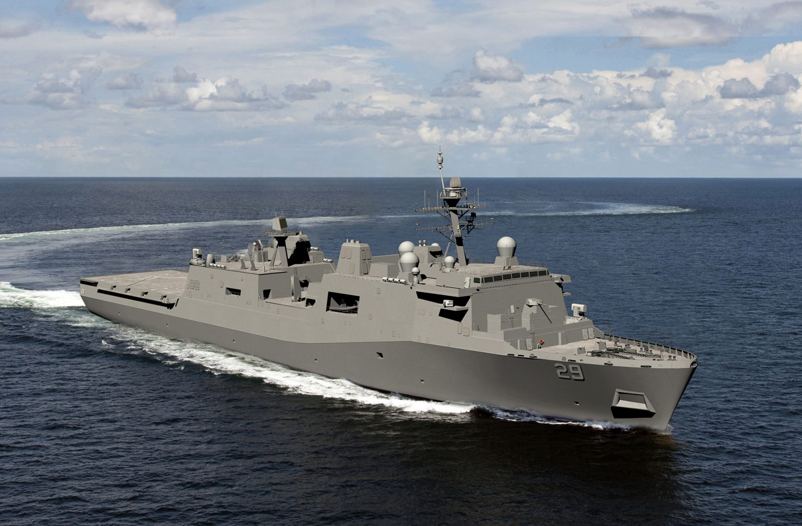 Huntington Ingalls Industries awarded $1.4B for US Navy LPD 29 (San Antonio-Class)