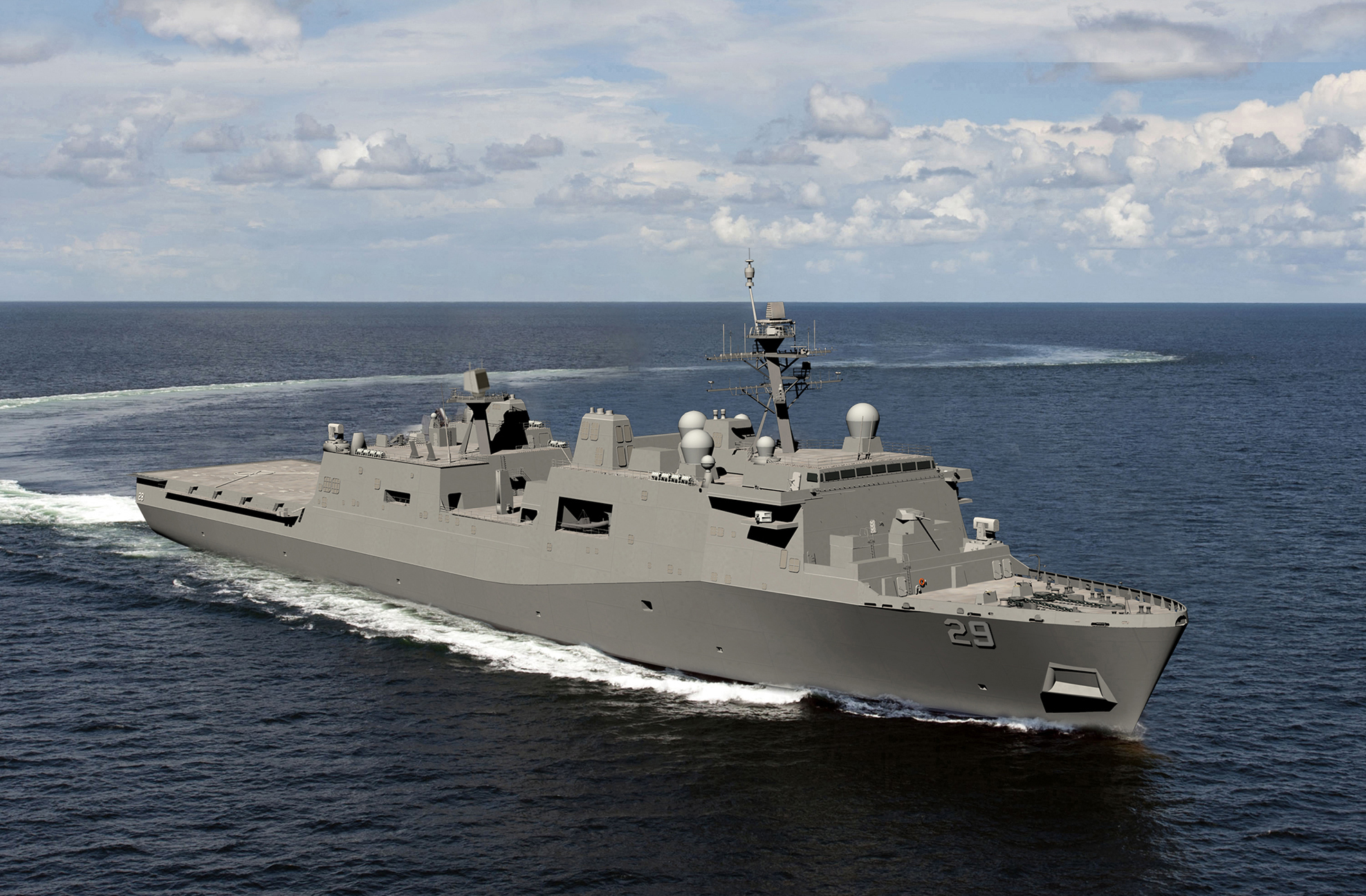 Huntington Ingalls Industries awarded $1 4B for US Navy LPD