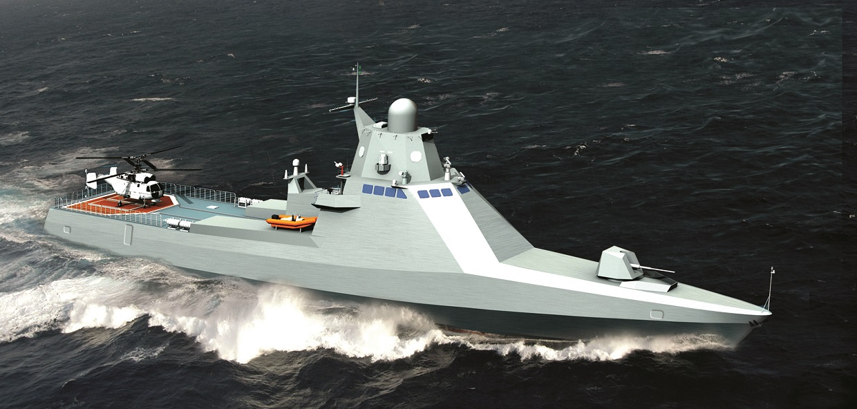 Russia to Lay Down 6th Project 22160 Corvette