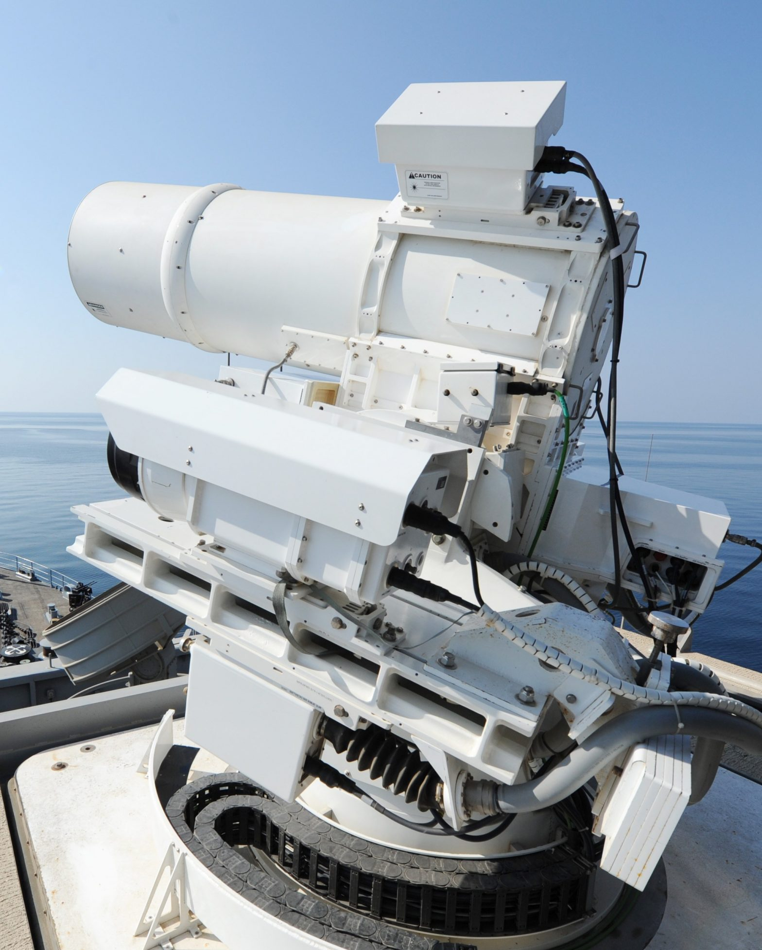 US Navy Requests $300M in Fiscal Year 2019 to Develop Shipboard Laser Weapons