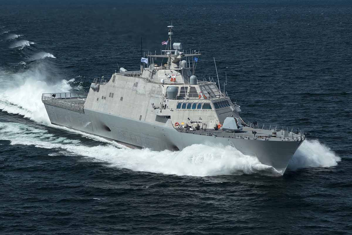 LCS 9 : USS Little Rock Sea Trials